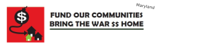 Fund Our Communities, Bring the War $$ Home