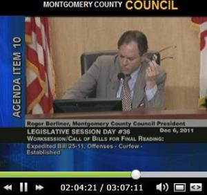 Dec 6 Montg.County Council hearingvideo link