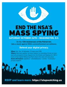 end the nsa's mass spying