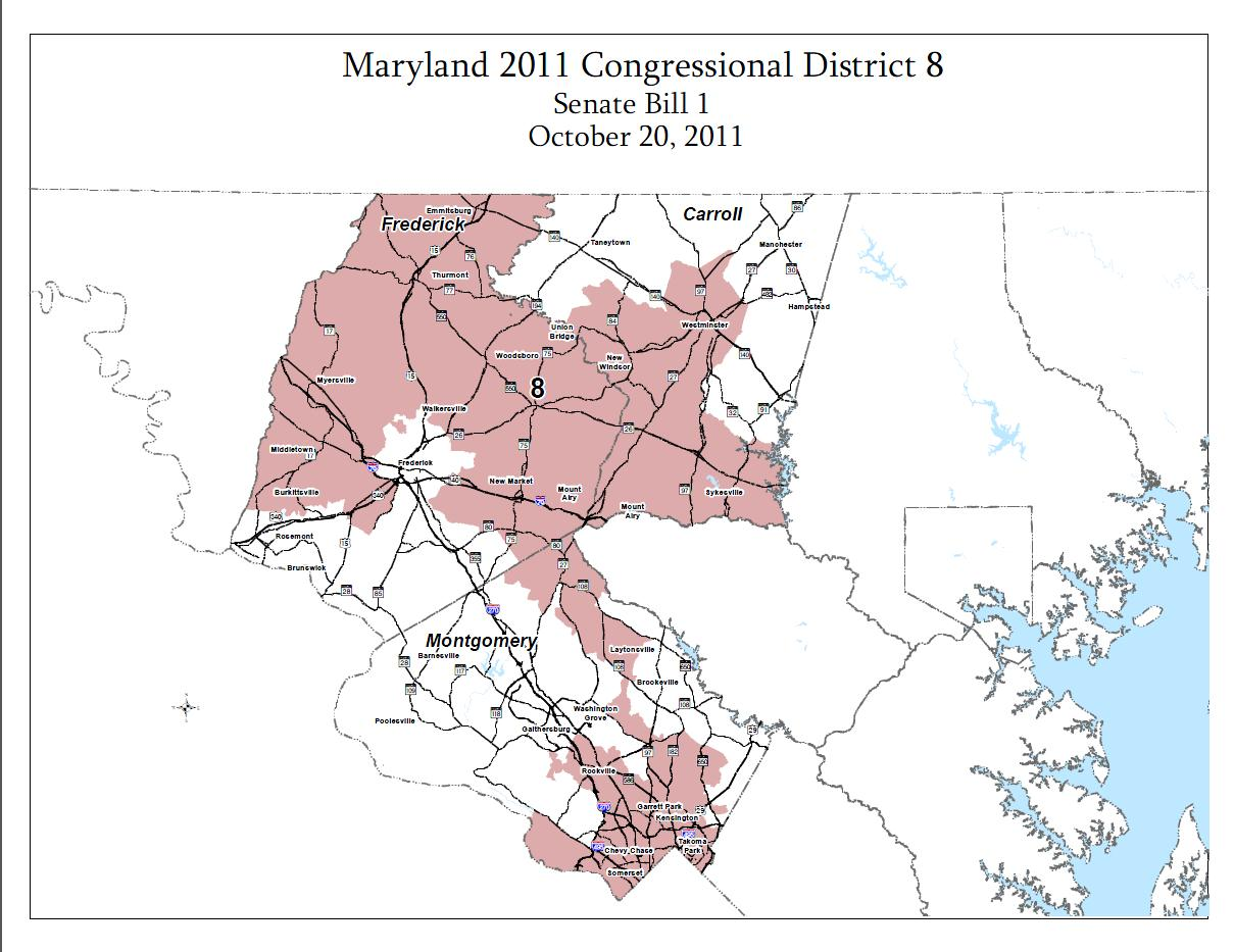 maryland 6th congressional district polls - HD1209×933