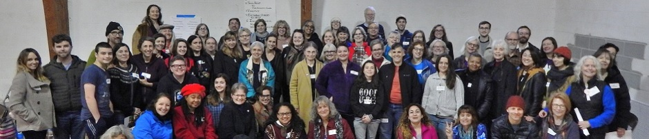 Bystander intervention training participants, Takoma Park, 1/20/2017